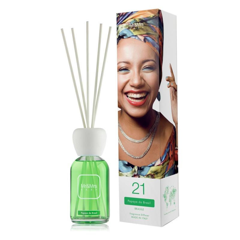 "Mr E Brasil"" Do Diffusore ""easy Ambiente Joy Fragrances Papaya Mrs qSzUpMVG"
