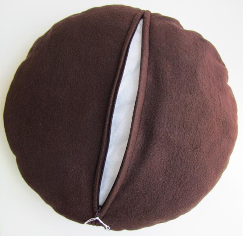 Pan Di Stelle Cuscino.Cuscino Biscotto Pan Di Stelle