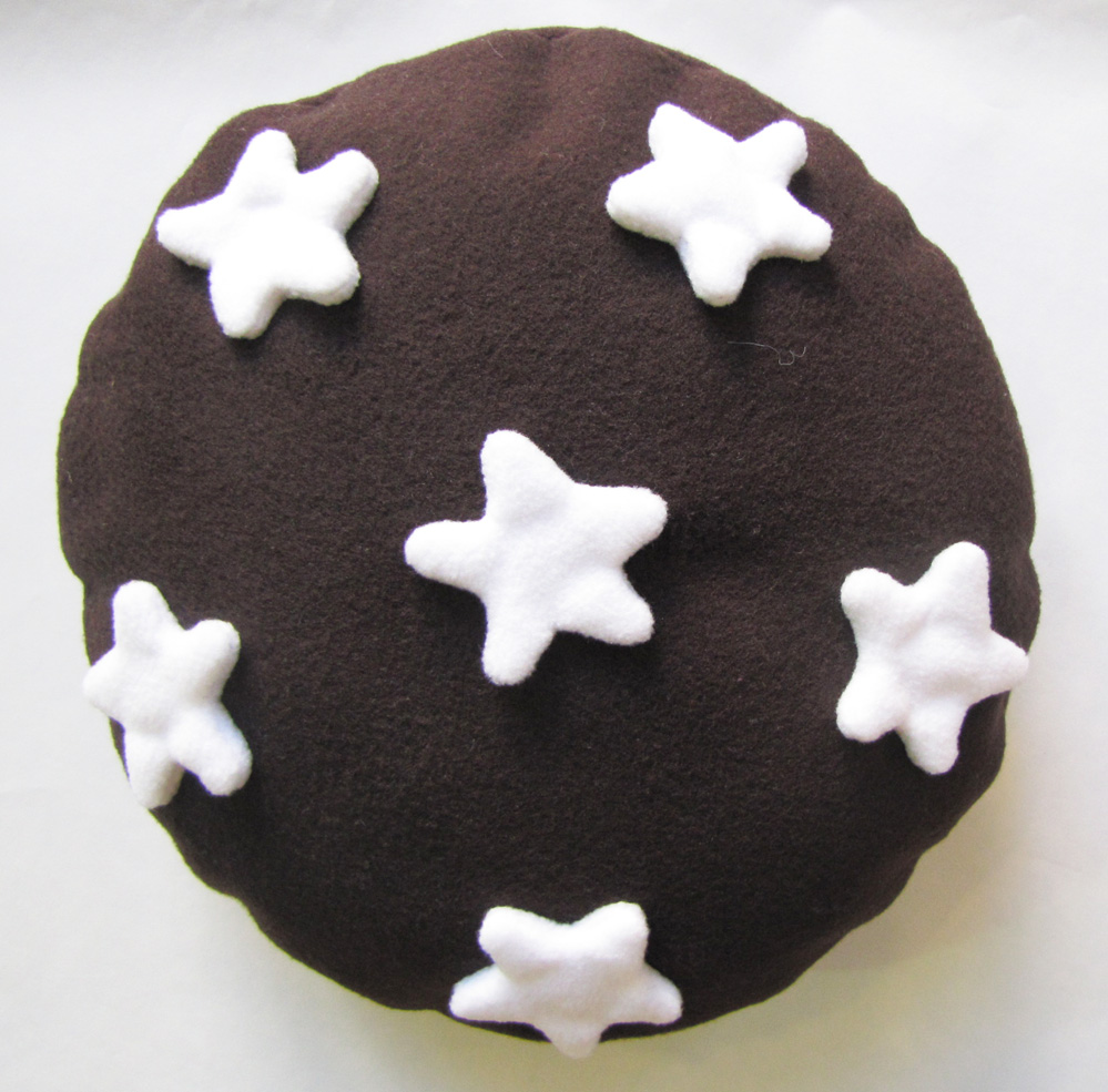 cuscino pan di stelle portacioccolatini