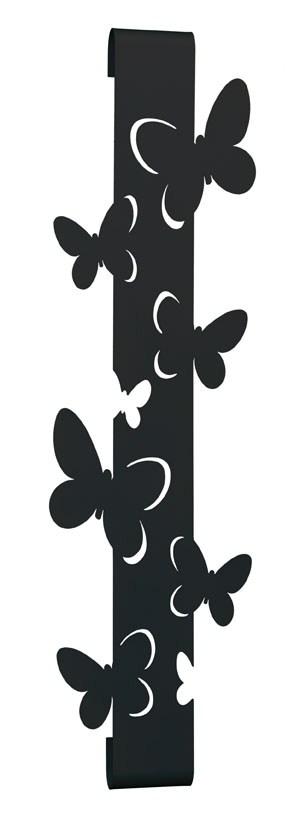 Appendiabiti Verticale.Appendiabiti Attaccapanni Verticale Farfalle Arti E Mestieri