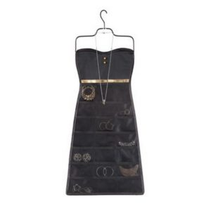 "PORTAGIOIE ""BOW DRESS BLACK/GOLD"""