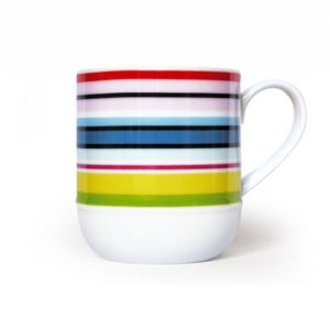 "MUG ""COLOUR STRIPES"""