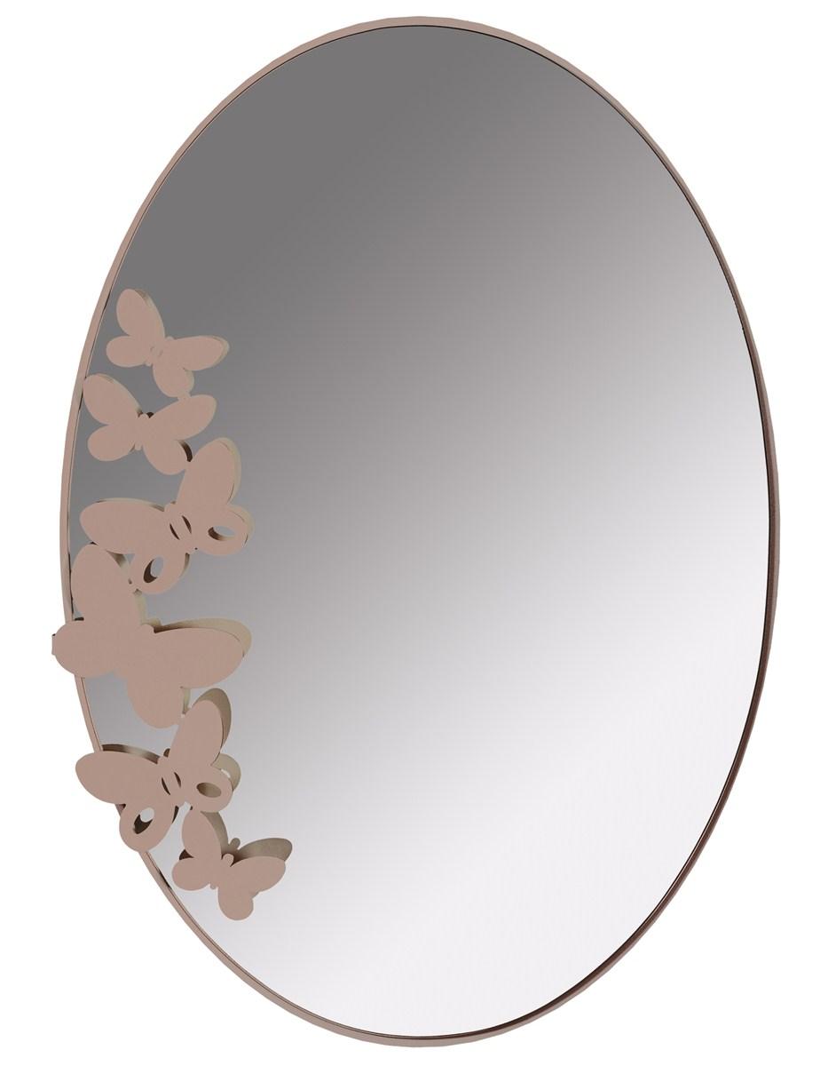 Specchio butterfly arti e mestieri borzik - Specchio ovale camera da letto ...