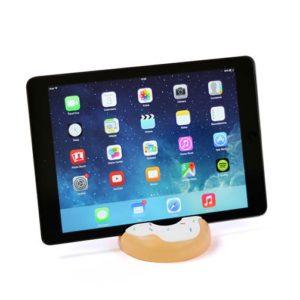 supporto tablet ciambella bianco doughnut