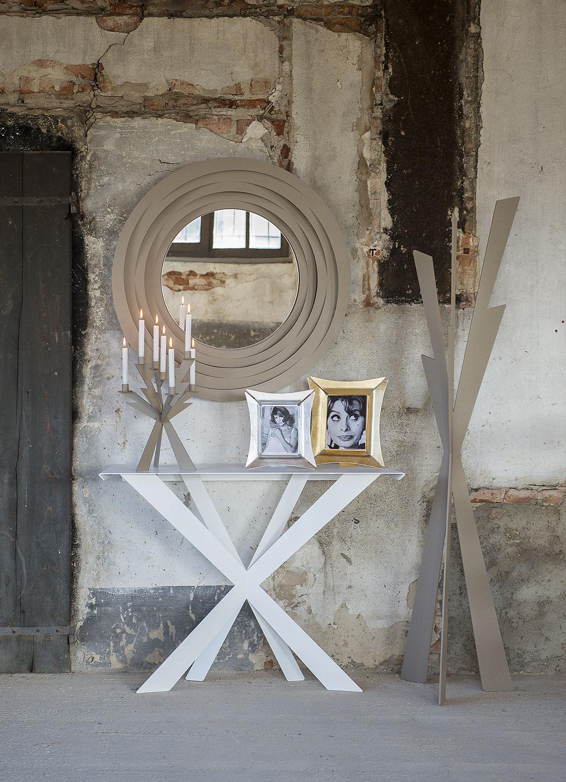 Specchio origami beige arti e mestieri borzik - Specchi arte e mestieri ...