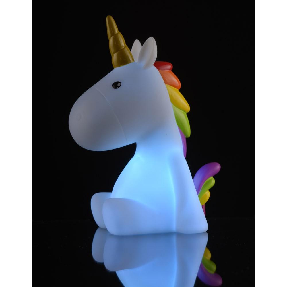 Lampada Luce Notturna Unicorno La Chaise Longue Borzik