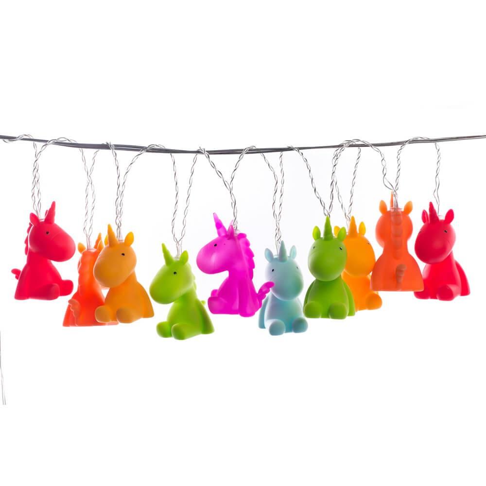 Ghirlanda Decoro Luminoso 10 Luci Unicorno La Chaise